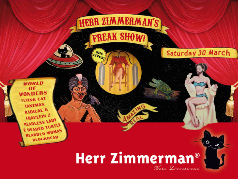 Herr Zimmerman's Freak Show