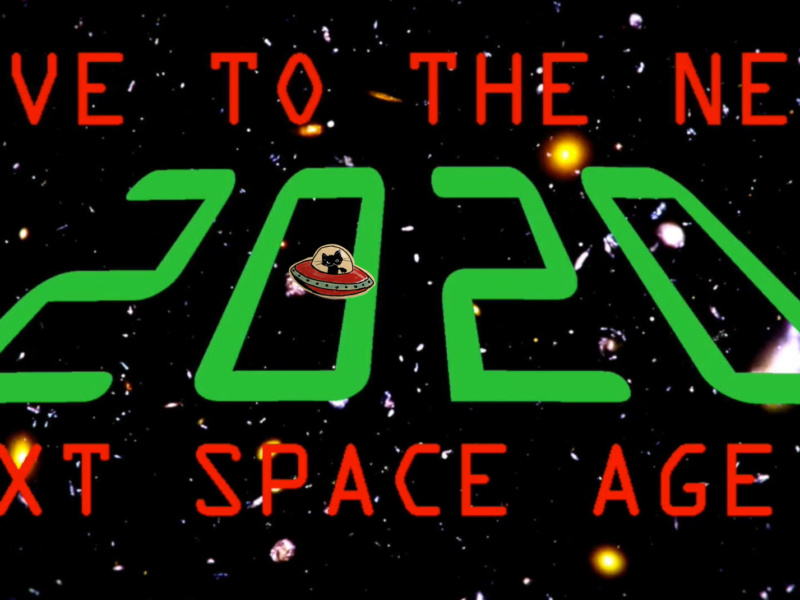 Trailer NYE – Rave to the next Space Age!