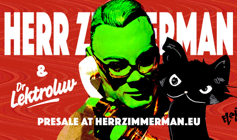 Herr Zimmerman invites Dr. Lektroluv! – Sat. 14 March 2020